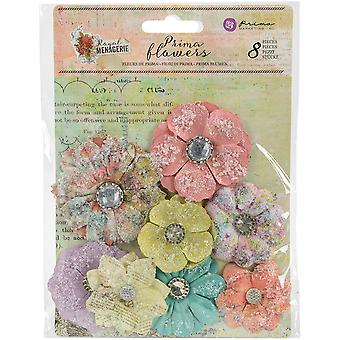Royal Menagerie Mulberry Paper Flowers-Victoria .85