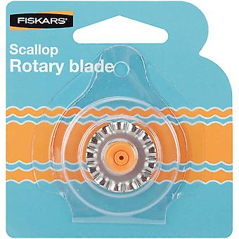 Rotary Trimmer Replacement Blade 28Mm Scallop F9914