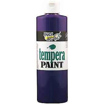 Handy Art Tempera Paint 16 Ounces Violet 201 040