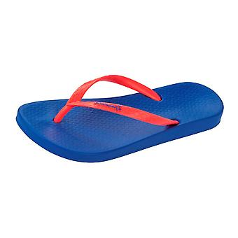Ipanema Tropical Womens Flip Flops / Sandals - Blue Orange
