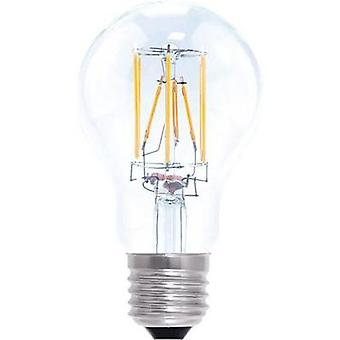 LED (monochrome) Segula 230 V E27 6 W = 40 W Warm white EEC: A+ Arbitrary (Ø x L) 60 mm x 106 mm dimmable, Filament 1 pc