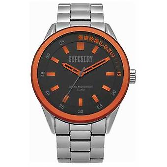 Superdry Mens Regent Corporal Silver SYG207BSM Watch