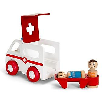 BRIO Light and Sound Ambulance  30381