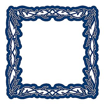 Tattered Lace Engaging Elements Square Frame Die