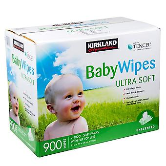 Kirkland Signature Baby salviette Ultra Soft Pack di 900