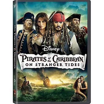 Pirater Caribbean-on Stranger Tides [BLU-RAY] USA importen