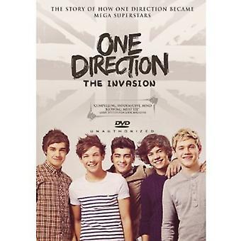 Én retning - Invasion [DVD] USA importerer