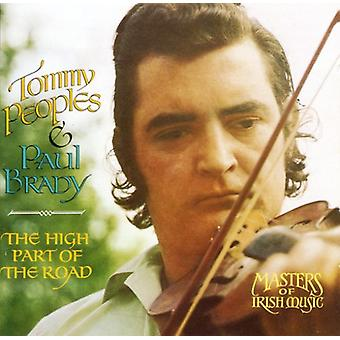 Peoples & Brady - High Part of the Road [CD] USA import