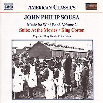 J.P. Sousa - John Philip Sousa: Musik til blæserorkester, Vol. 2 [CD] USA import