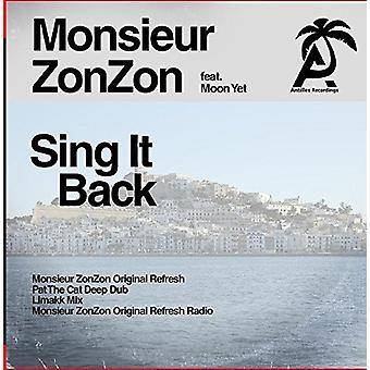 Monsieur Zonzon - Sing It Back [CD] USA import