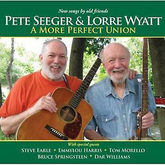 Pete Seeger & Lorre Wyatt - mere perfekt Union [CD] USA import