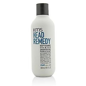KMS California hoved afhjælpe dyb rense Shampoo (dyb udrensning For hår og hovedbund) - 300ml/10.1 oz