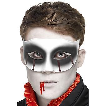 Éclaboussures de sang Carnaval œil masque zombie