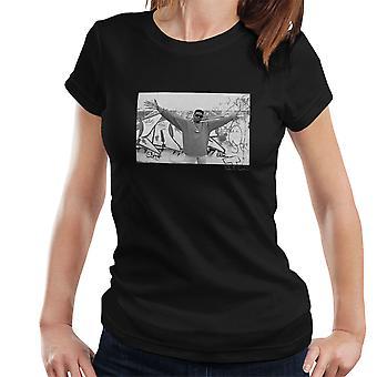 Schoolly D Graffiti Harrow Road 1986 Women's T-Shirt