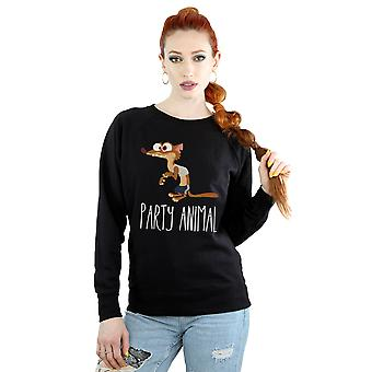 Disney Women's Zootropolis Party Animal Sweatshirt
