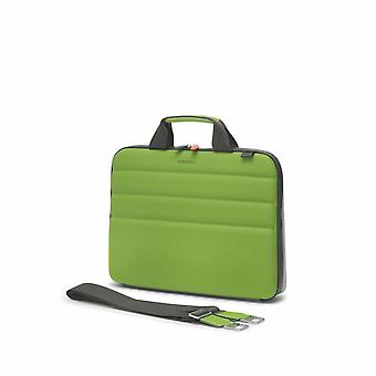 "Fedon 1919 Ninja Collection NJ File Doc Bag Grün Premium Aktentasche 13"" Laptop Notebook MacBook Tasche Green"
