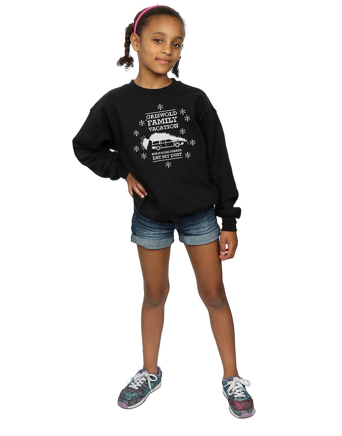 National Lampoon es Weihnachten Urlaub Mädchen Essen mein Staub-Sweatshirt