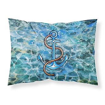 Carolines Treasures  BB5350PILLOWCASE Anchor Fabric Standard Pillowcase