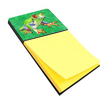 Frog Refiillable Sticky Note Holder or Postit Note Dispenser