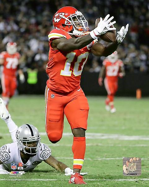 Tyreek Hill 2017 Action Photo Print