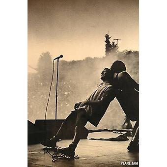 Pearl Jam - Leaning Live Leaning Poster Poster Print