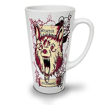 Winter Is Here NEW White Tea Coffee Ceramic Latte Mug 17 oz | Wellcoda