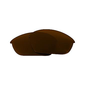 Replacement Lenses Compatible with OAKLEY HALF JACKET Asian Fit Brown