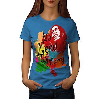 Rasta legende Celebrity vrouwen Koninklijke Bluetooth-shirt | Wellcoda