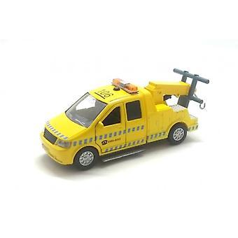 Afsleepwagen 16 cm geel