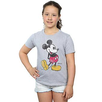 Disney Girls Mickey Mouse Classic Kick T-Shirt