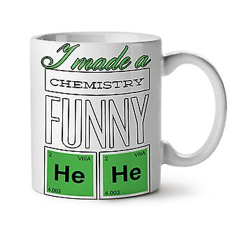 Funny Chemistry Geek NEW White Tea Coffee Ceramic Mug 11 oz | Wellcoda