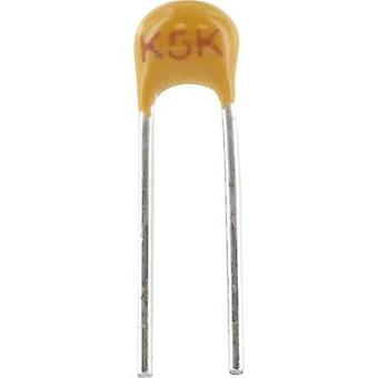 Ceramic capacitor Radial lead 1 nF 100 V 5 %