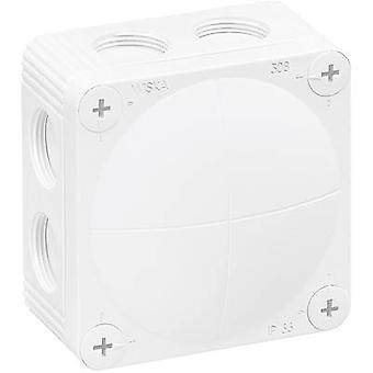 Junction box (L x W x H) 85 x 85 x 51 mm Wiska 10060610 White