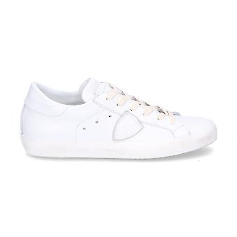 Philippe model women's CLLDV018 White leather of sneakers