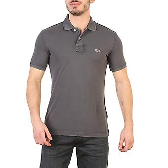 Napapijri Men Polo Grey