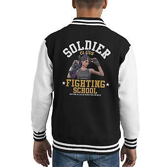 Fortnite Soldatenklasse kämpfen School Kid Varsity Jacket