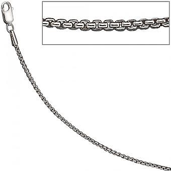 Necklace silver chain Silver 925 Sterling Silver 925 /-s Venetian chain rhod. 1.6 mm