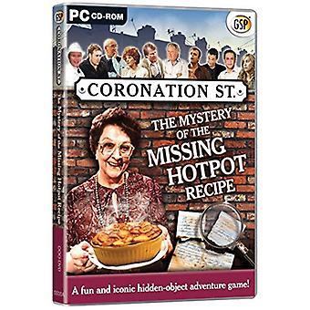 Coronation Street das Geheimnis der fehlenden Eintopf Rezept (PC-CD)