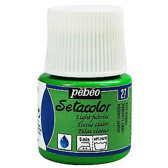 Pebeo Setacolor Light Fabrics Paint 45ml