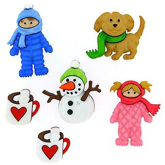 Dress It Up Embellishments-Fun In The Snow
