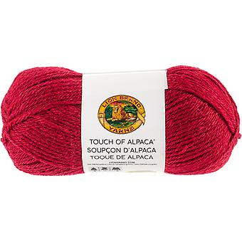 Touch Of Alpaca Yarn-Red