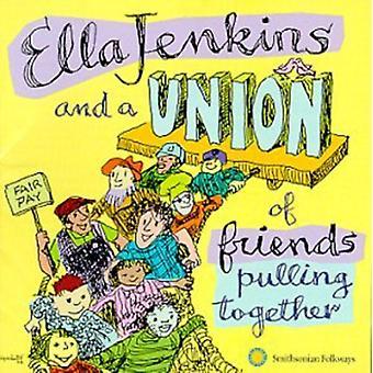 Ella Jenkins - Ella Jenkins & een Unie van Frie [CD] USA importeren
