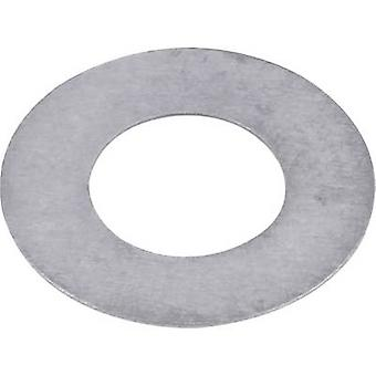 Steel Shim ring 5 mm 10 mm 0.2 mm 20 pc(s)