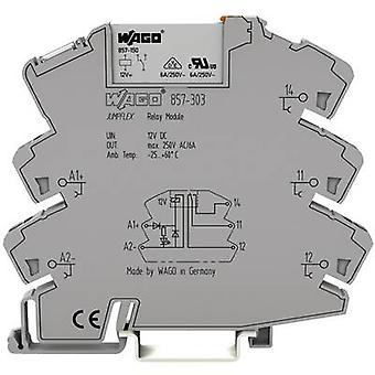 Composante 1 confiez WAGO de relais 857-306 tension nominale : 60 Vdc Switching courant (max.) : 6 1 inverseur