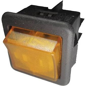 SCI Toggle switch R13-105B-01 B/Y 250 V AC 10 A 1 x Off/On latch 1 pc(s)