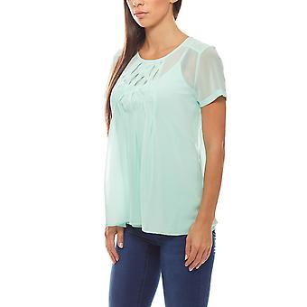 Ladies blouse with top in the PATRIZIA DINI Grün set of 2