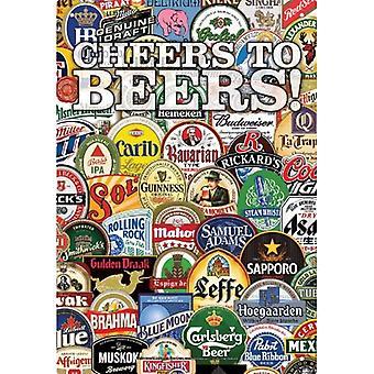 Cheers To Beers Metal Sign