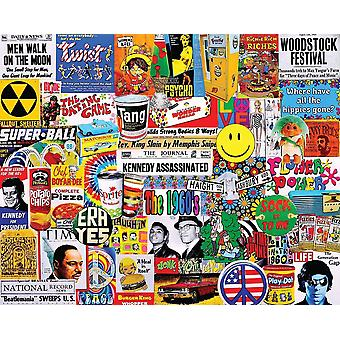 Life In The 60S 1000 Piece Jigsaw Puzzle 750Mm X 600Mm
