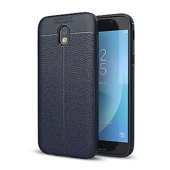 Celular capa capa para Samsung Galaxy J3 2017 moldura capa case azul