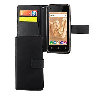 Mobiltelefon tilfælde pose for mobile WIKO solrige Max sort